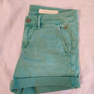Anthropologie Pilcro Chino shorts